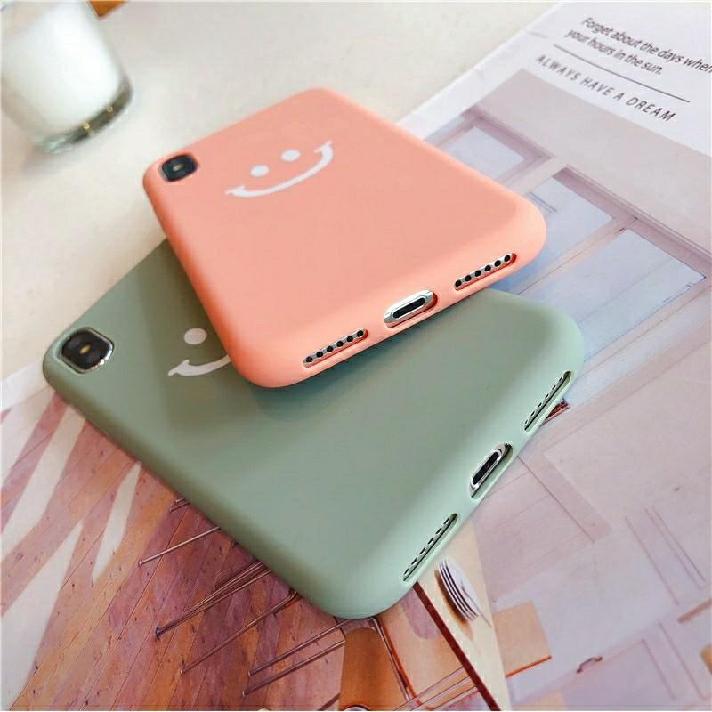 😀Smiley iPhone Soft Case