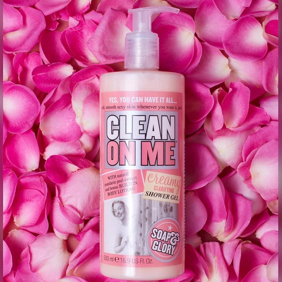 泰國代購@Soap & Glory Clean On Me (500ML)