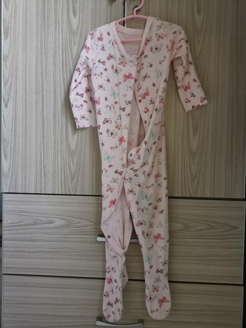 #STB50 Mothercare long sleeve sleep suits, 5pcs