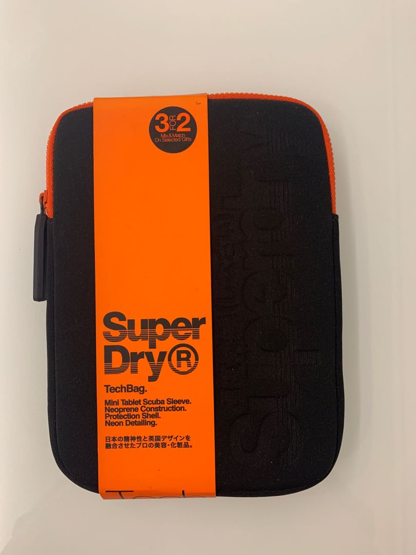 Superdry Brand New Authentic Mini Tablet Sleeve Electronics