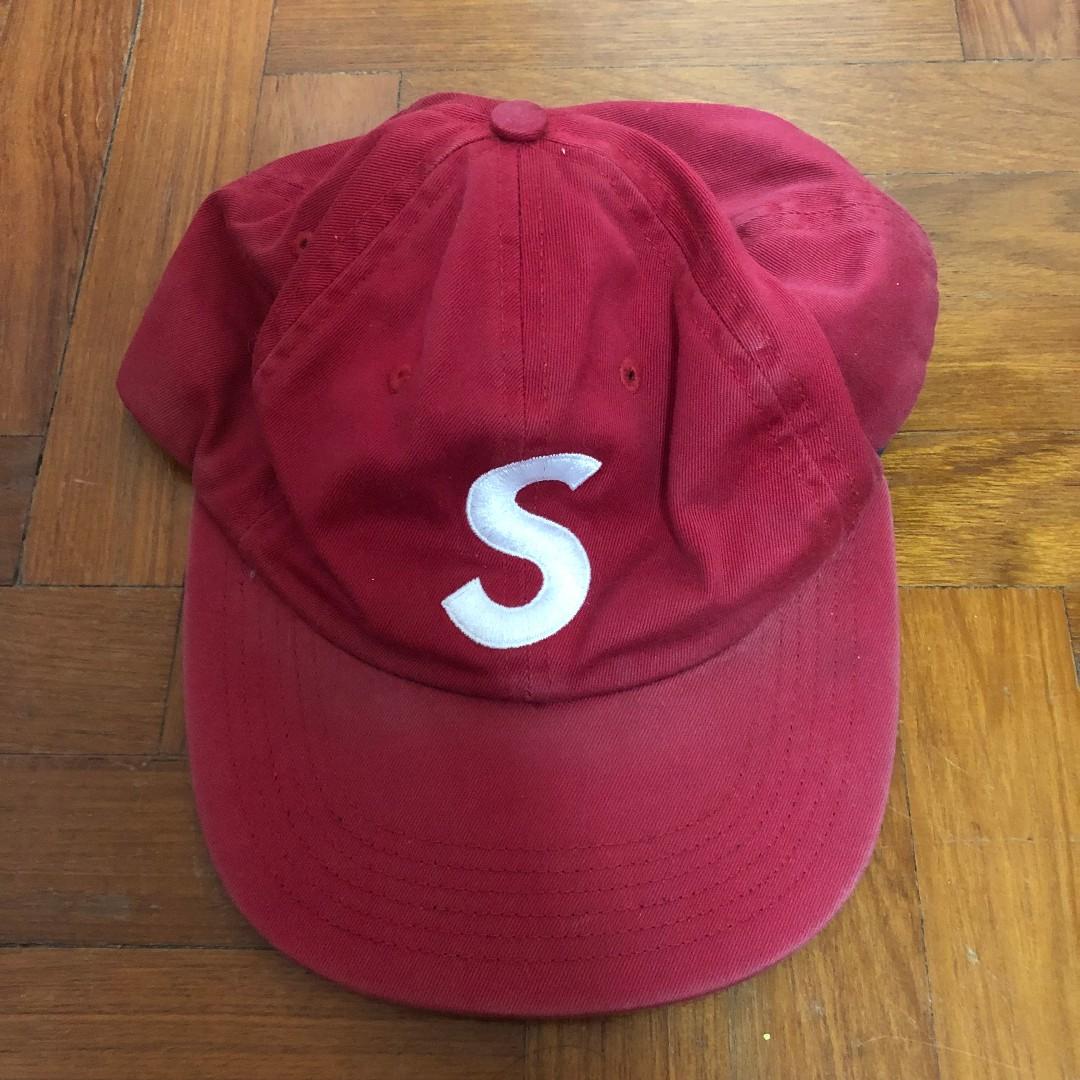 baa6b2f8bf865 Supreme SS15 S Logo 6-Panel Hat Box Camp Cap