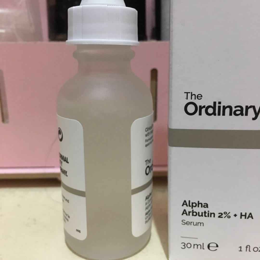 The Ordinary Alpha Arbutin + HA