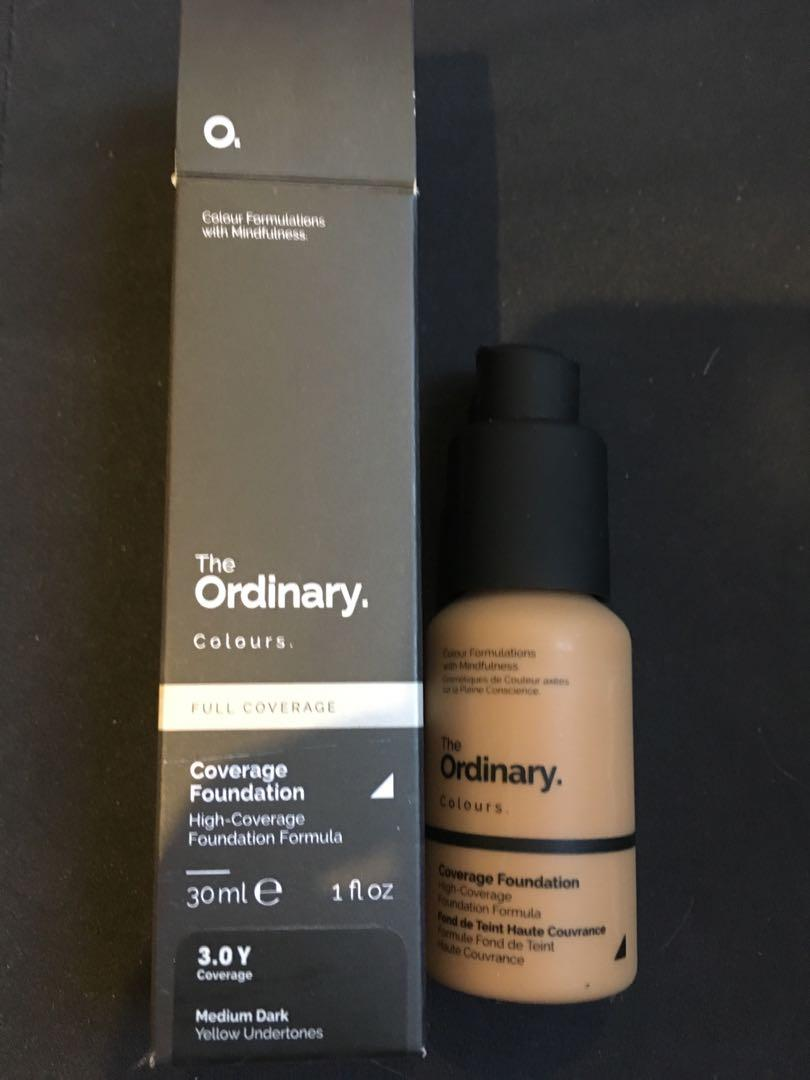 The ordinary high coverage foundation 3.0Y