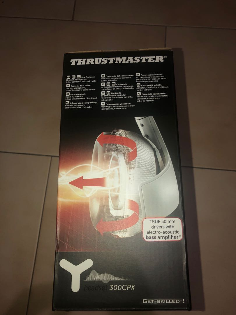 Thrustmaster 300CPX Stereo Headphones