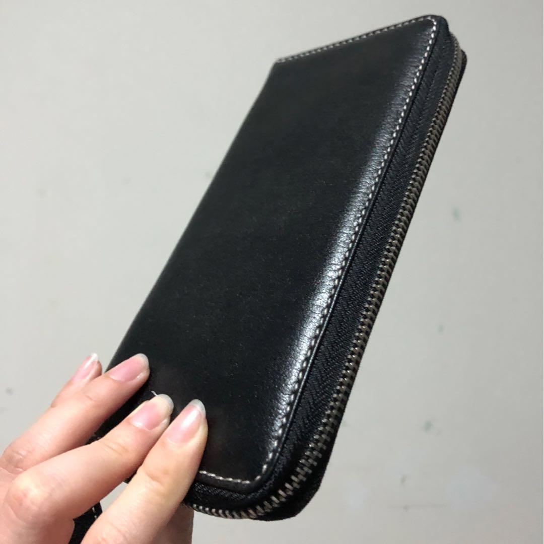 Tocco Tenero Black Leather Wallet