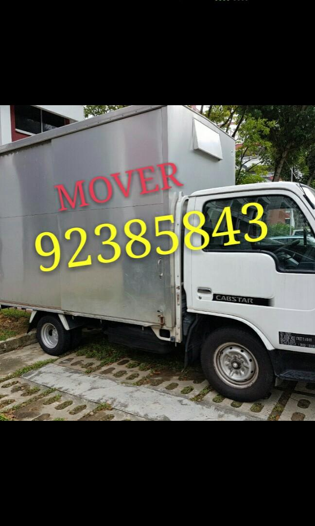 Transportation lorry with tailgate services call 92385843 JohnsionMover