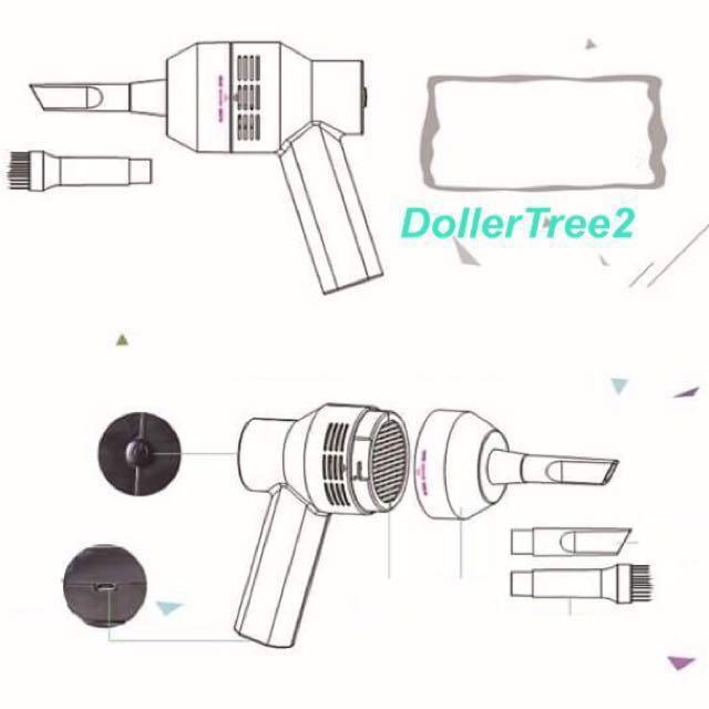 小型迷你手提式USB吸塵機