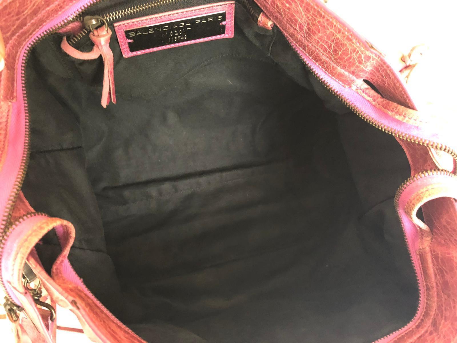 Very good condition - Balenciaga City Pink