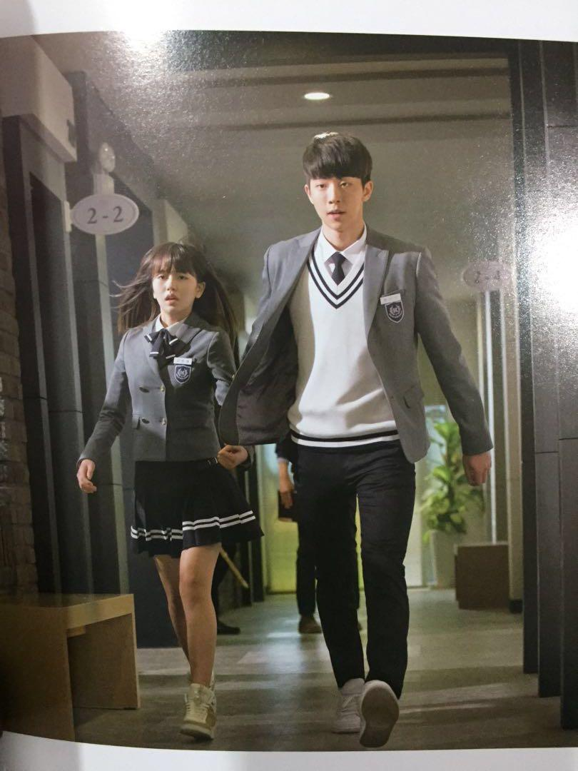 Who are you: School 2015 Photobook (Nam JooHyuk& Kim SoHyun)