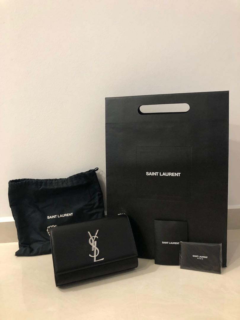 345f9f4cf74 YSL - Kate small in grain de poudre embossed leather, Women's Fashion, Bags  & Wallets, Handbags on Carousell