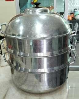 19inch 3-Layers Steam Pot