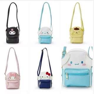 🚚 Sanrio Backpack/Slingbag