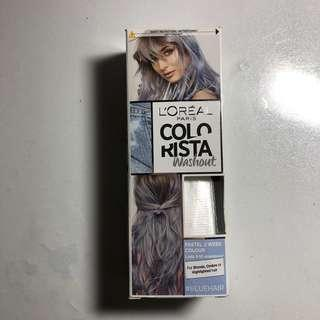 🚚 Hair Dye L'Oréal colorista pastel blue washout dye