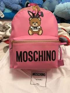 💯 %Real and 💯%New 超靚Moschino pink color backpack