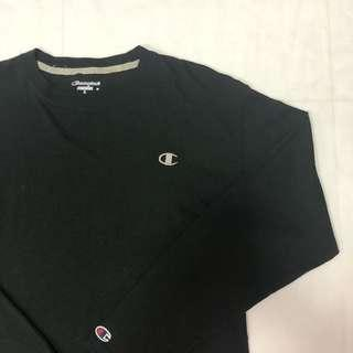 🚚 Black Champion Long Sleeved