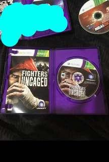 Fighters Uncaged XBOX 360 NTSC J