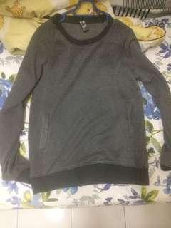 American denim sweat shirt