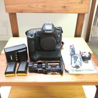 Canon 5D Mark III 連直倒及三粒完廠電池