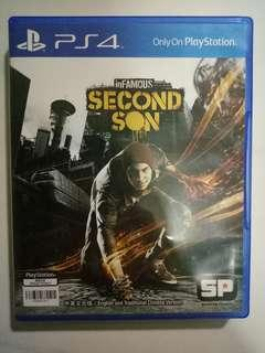 WTS PS4 Infamous Second Son