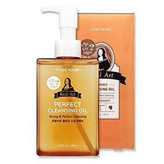EtudeHouse RealArt Perfect Cleansing Oil
