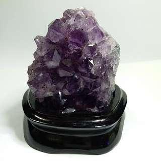 C005-天然水晶 紫晶簇 清倉大特價