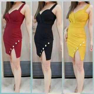 Midi dress ketty dress tanktop dress pesta polos dress sabrina dress scuba dress manggung