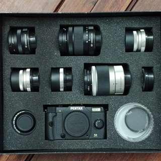PENTAX Q7 complete kit 99%new 全日本限量1000套