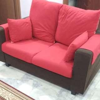 Home clearance - 2 seater sofa set (2 unit)