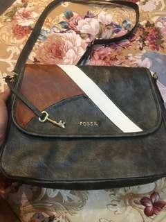 Fossil sling bag large autentic