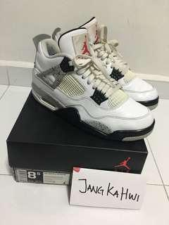 Nike Air Jordan Retro 4 - White Cement 2016