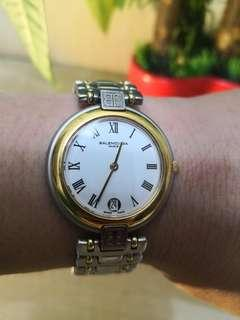 85%new.Swiss made BALENCIAGA石英腕錶