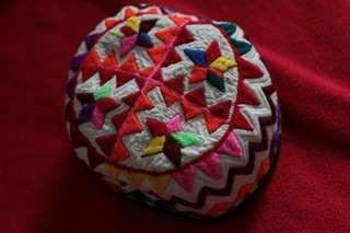 哈薩克族自製節慶帽