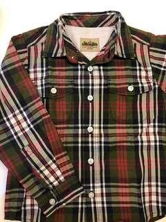 Oshkosh Shirt Checkers Long Sleeve