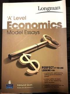 🚚 A level Economics model essays