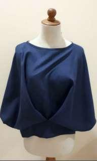 Beatrice Clothing Navy Blouse