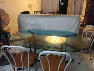 Good Deal (Sell Together:Dining Table Set, 2 Beds, Wardrobe)