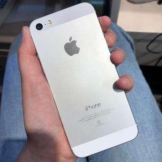 iphone5s 32GB 銀 手機 蘋果