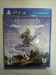 WTS BN PS4 Horizon Zero Dawn Complete Edition