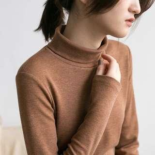 半高領針織衫
