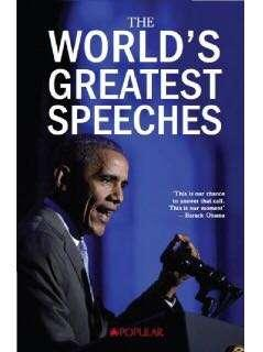 🚚 The World's Greatest Speech