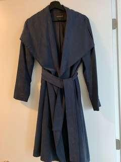 Club Monaco navy trench - size small