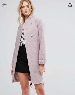 ASOS Textured Throw on Coat