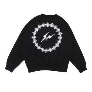 THE CONVENI X fragment design FRGMTS CREWNECK SWEAT FRGMT 衛衣