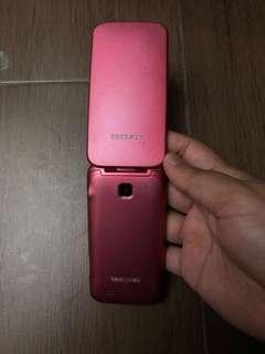 Samsung flip gt c3250 Pink original