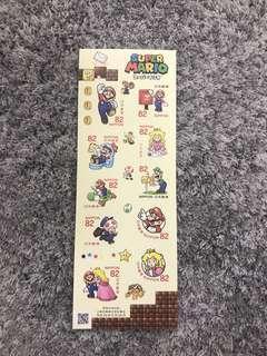 Japan stamp - Mario