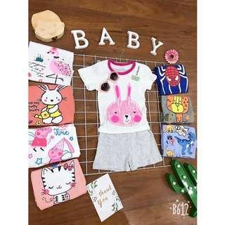 Carter's Toddler Set (Pink Bunny)