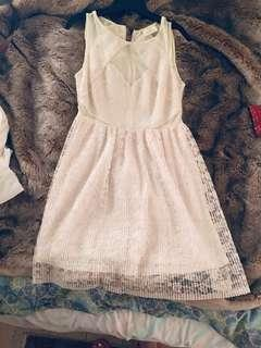 Bnwot Urban outfitters cream color dress