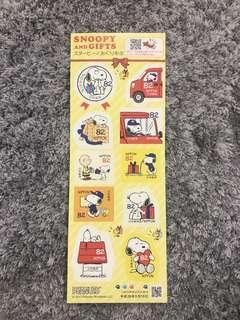Japan stamp - snoopy