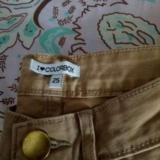 Celana chino pants colorbox