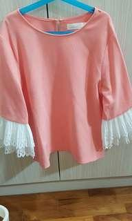 🚚 BYSI Pink Top